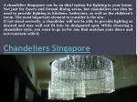 chandeliers singapore