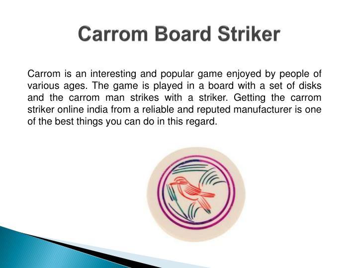 Carrom board striker1