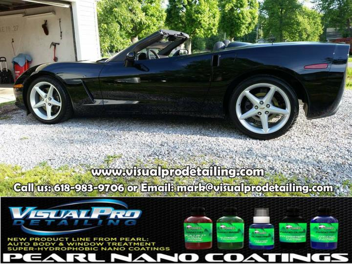 Clean your car at visual pro detailing