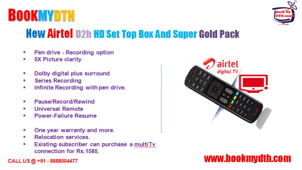 PPT - DTH Packages | Airtel Digital TV | Tata Sky Packages