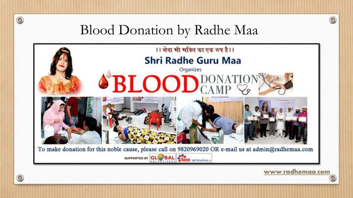Blood Donation by