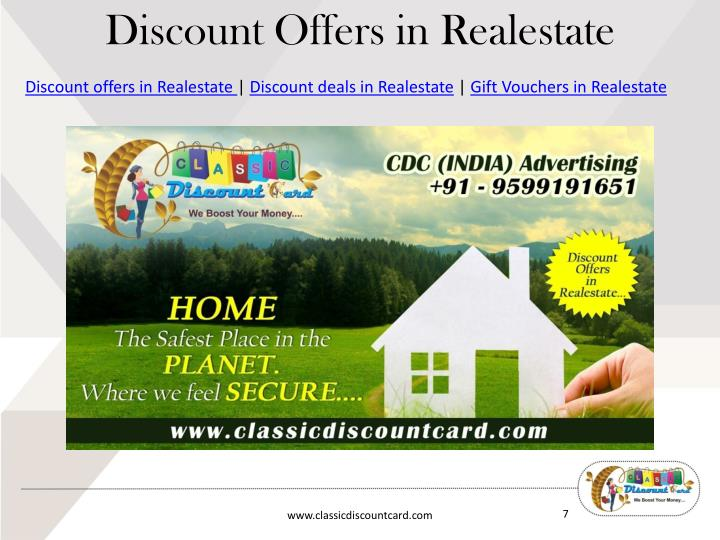 Discount Offers in