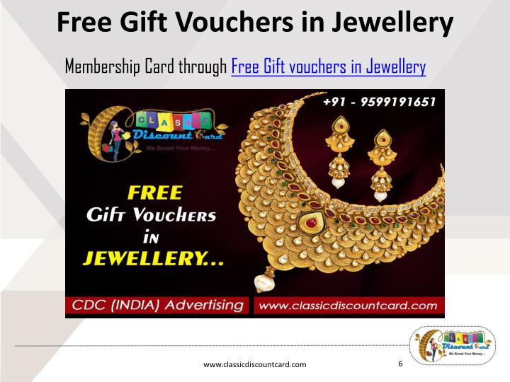 Free Gift Vouchers in