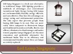 led lamp singapore