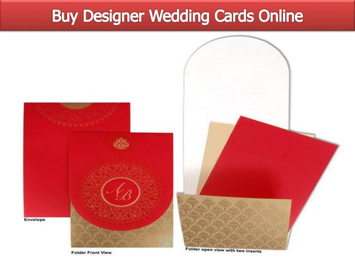 Buy Designer Wedding Cards Online
