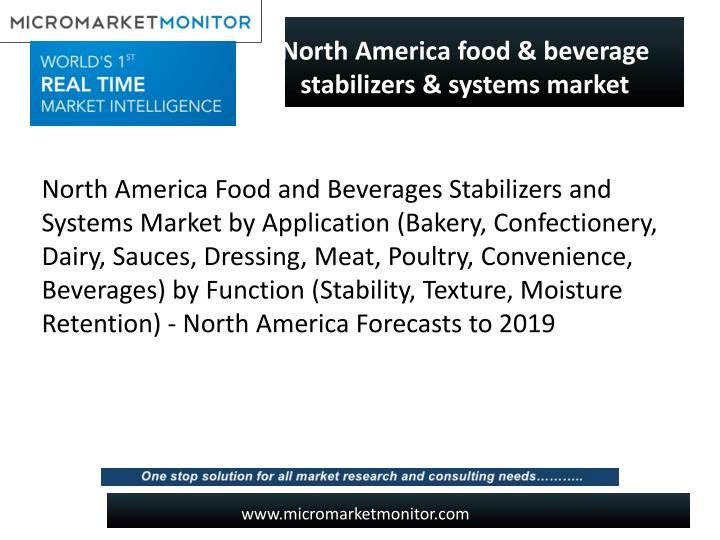 Ppt massive growth has been driven of north america food for American cuisine presentation