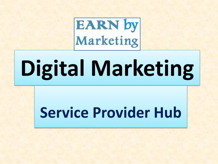 digital marketing n.