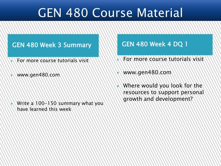gen480 week 4 past present and Week 2 assignment general education capstone gen 499 (4 pages | 1792 words) examine the influence of web-based information on global citizenship and multicultural understanding then, compile a list of three factors you believe should be considered when evaluating internet sources for use in research.