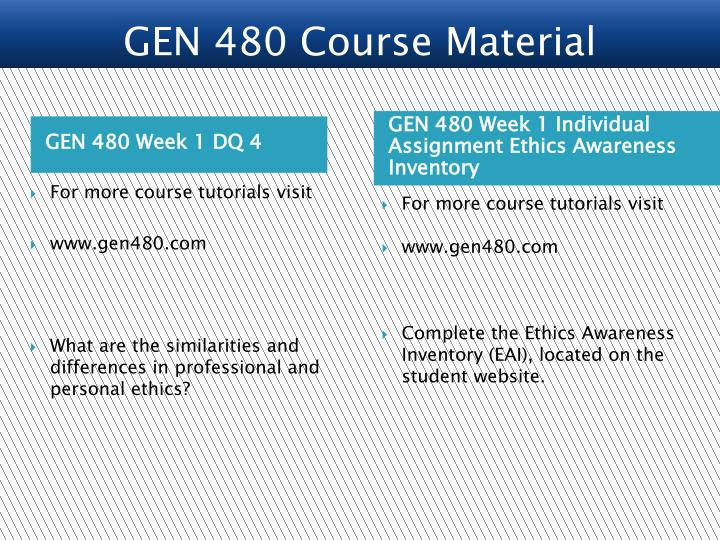 ethics awareness inventory analysis For more course tutorials visit wwwgen480com prepare a 300- to 600-word analysis of your ethics awareness inventory interpret the results and apply them to your personal and professional development.