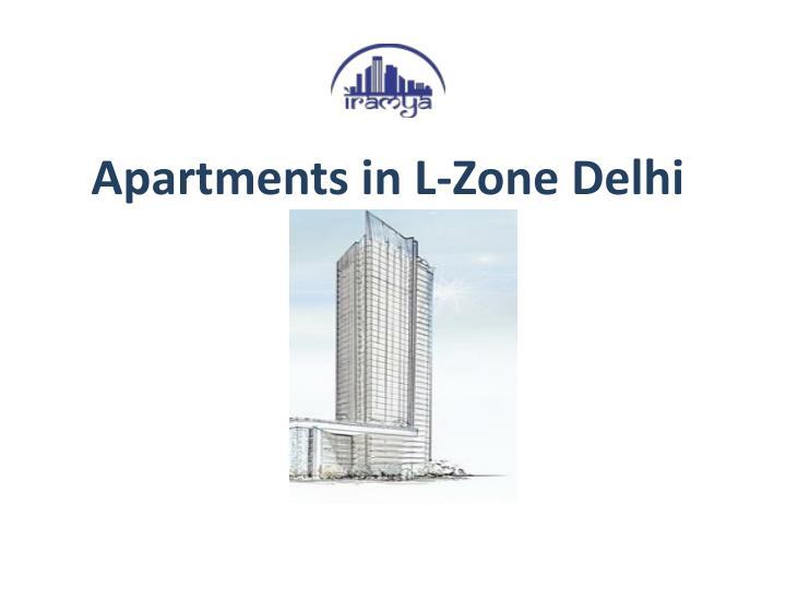 Apartments in L-Zone Delhi