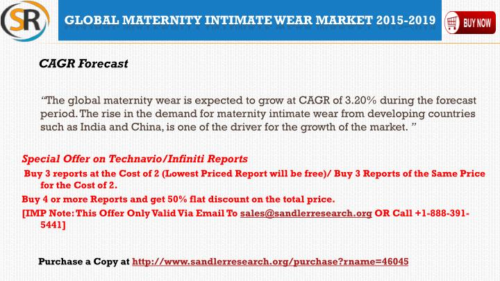 945031afa PPT - 2019 World Maternity Intimate Wear Industry by Market Size ...