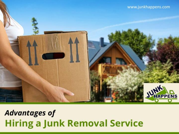 advantages of hiring a junk removal service n.