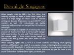 downlight singapore
