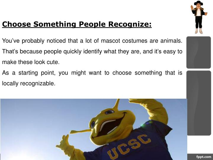 Choose Something People Recognize: