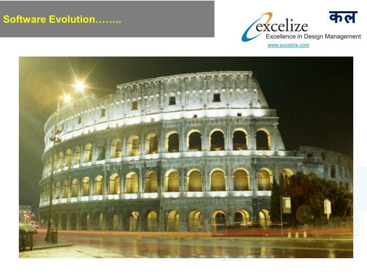 Software Evolution……..