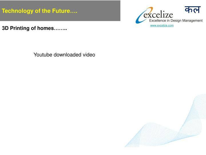 Technology of the Future….