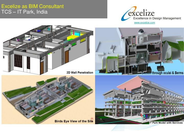 Excelize as BIM Consultant