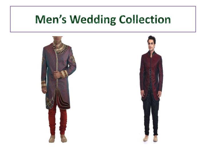 Men's Wedding Collection