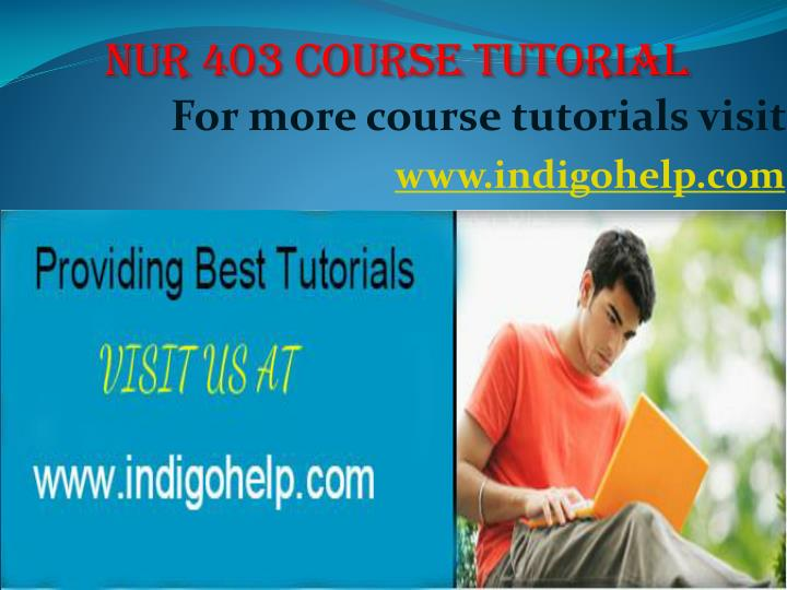 for more course tutorials visit www indigohelp com n.
