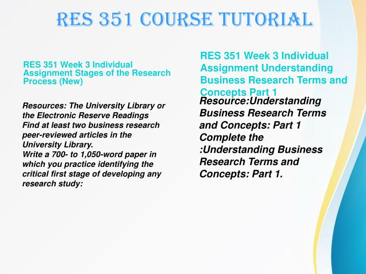 business research terms and concepts part Identify two articles in the university library: one in which the business problem is researched using a qualitative design and the other using a quantitative designsummarize&nbspeach of the research designswrite&nbspa 350- to 700-word paper in which you compare and contrast the two approaches:what are the strengths.