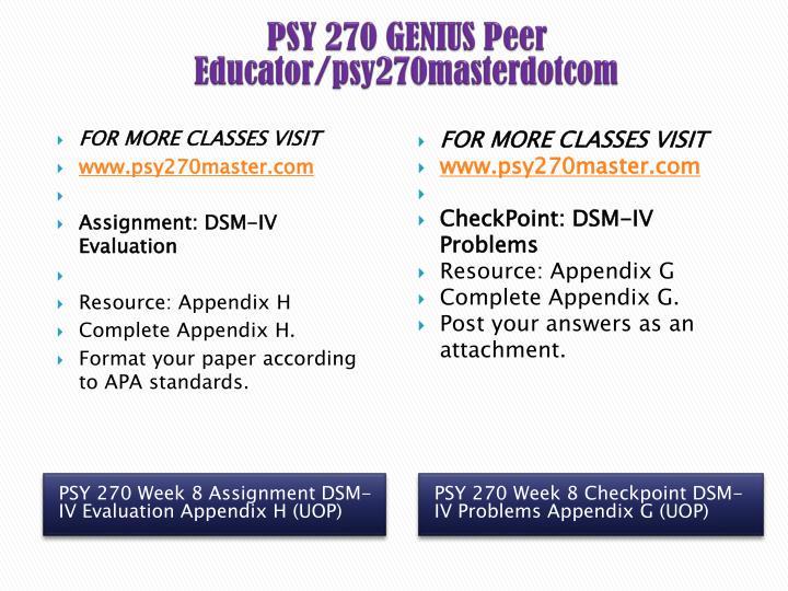 psy 270 appendix f