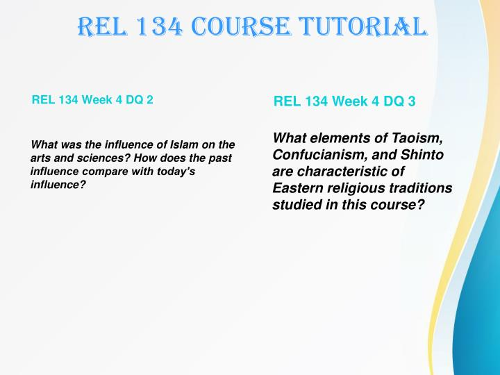 rel 134 religious traditions