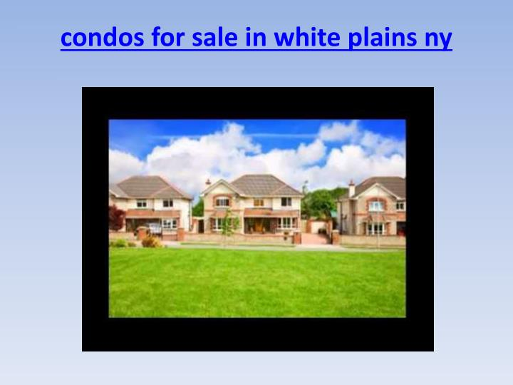Condos for sale in white plains ny1