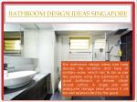 bathroom design ideas singapore