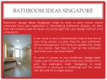 bathroom ideas singapore