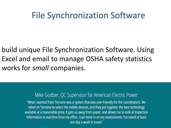 File Synchronization Software