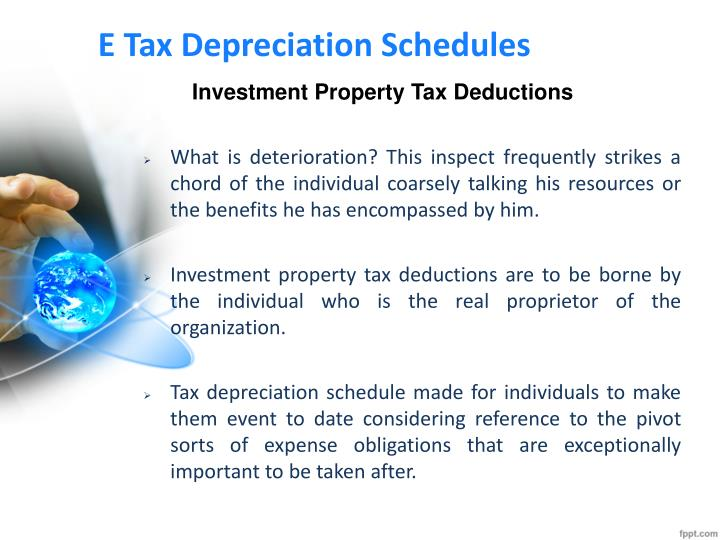how to use investment property tax deductions