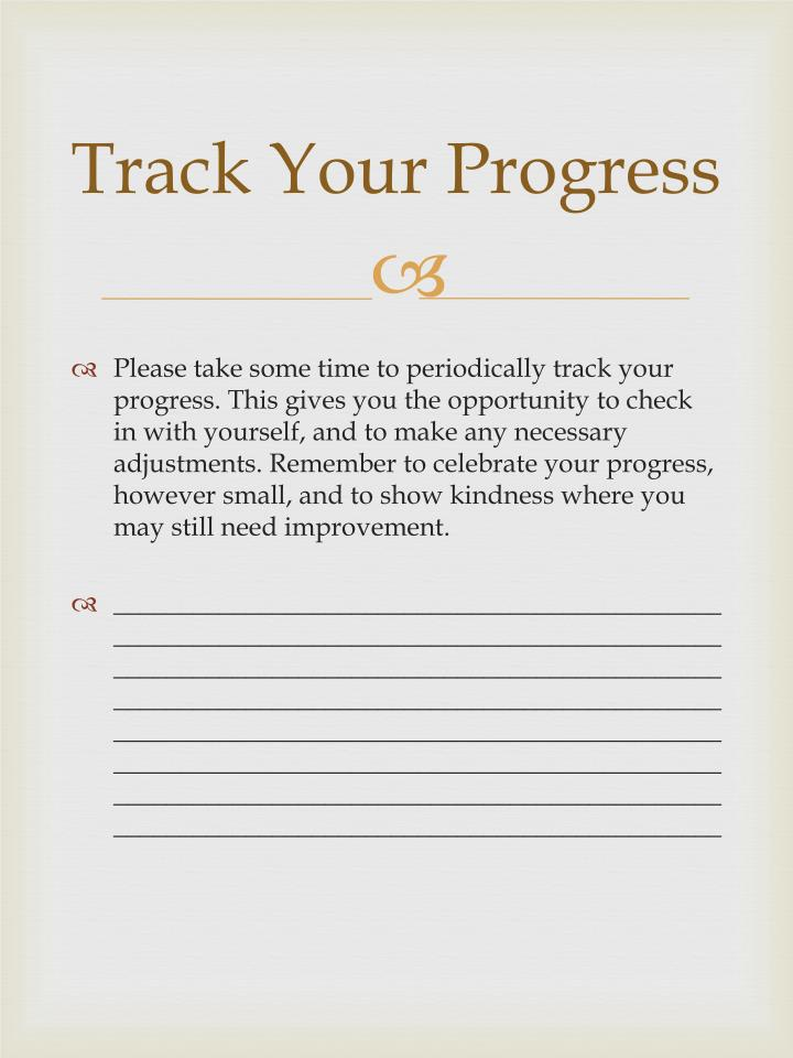 Track Your