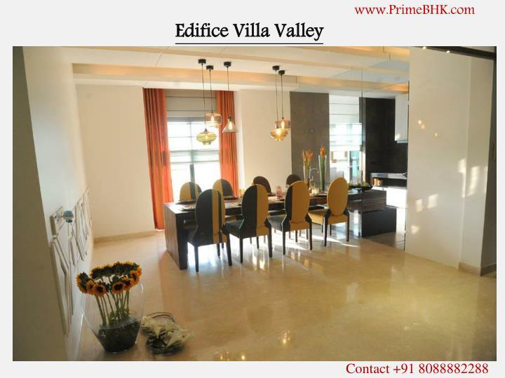 Edifice villa valley
