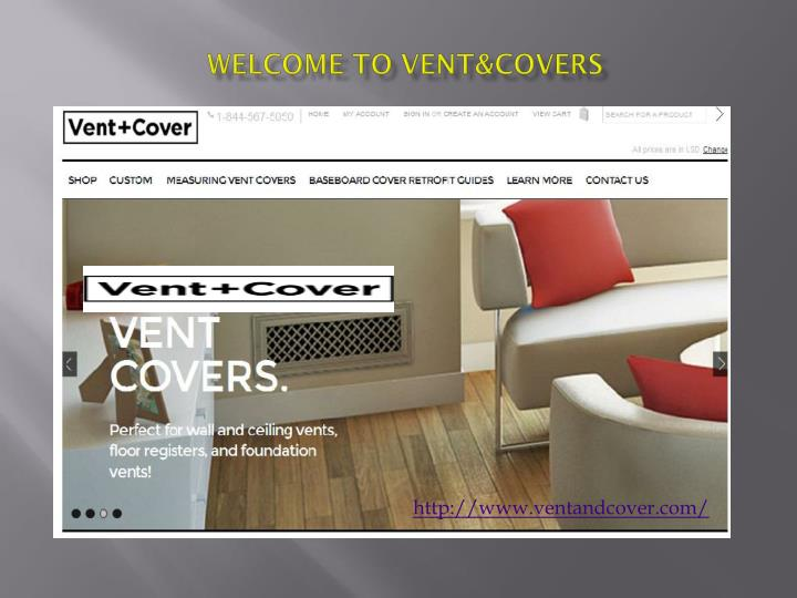 Welcome to vent covers