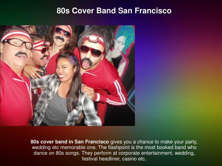 80s Cover Band San Francisco