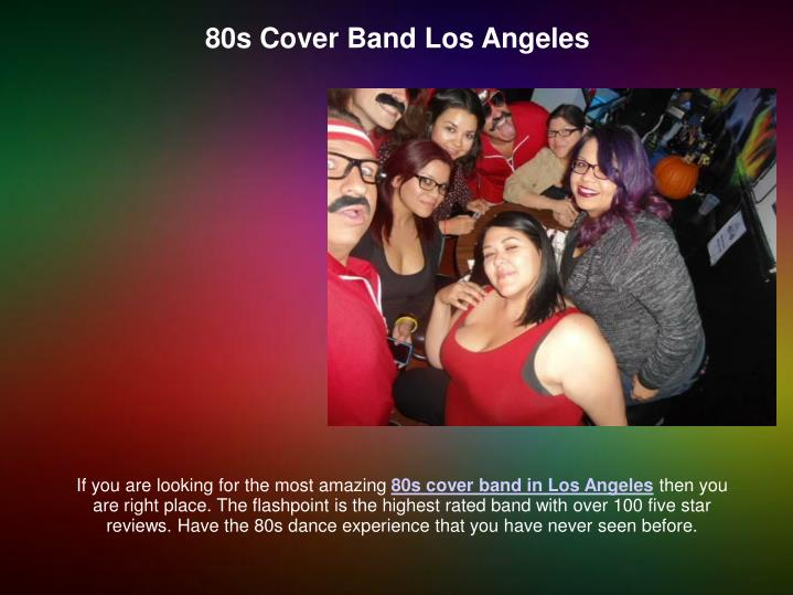 80s Cover Band Los Angeles