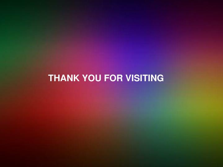 THANK YOU FOR VISITING