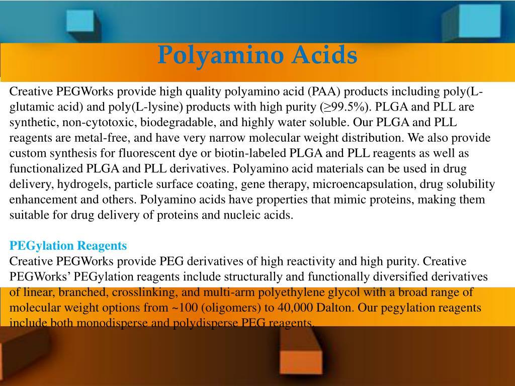 PPT - Heterobifunctional Peg New York PowerPoint