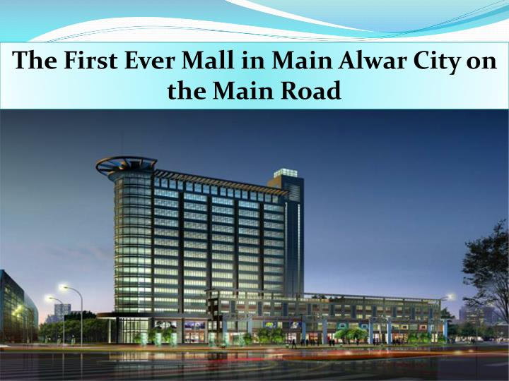 The First Ever Mall in Main