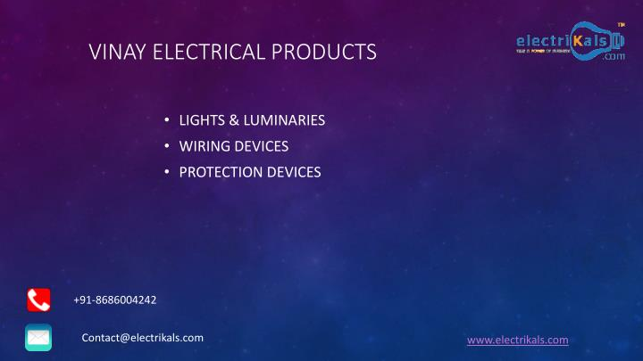 Vinay electrical products