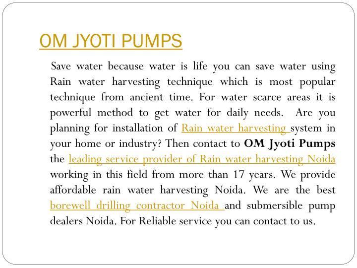 Om jyoti pumps