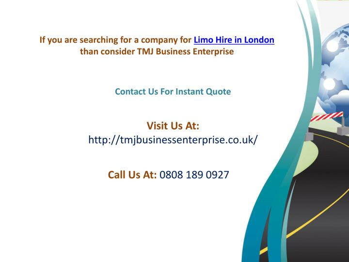 If you are searching for a company for