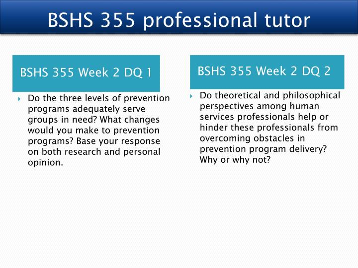 personal interview bshs 355 Bshs 355 week 4 social policy decisions paper ← bshs 355 week 4 factors influencing social policy paper or advertisement bshs 355 week 5 personal interview.