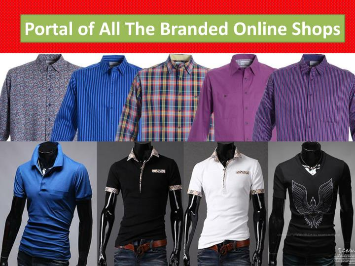 Portal of All The Branded Online Shops