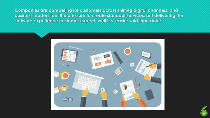 Companies are competing for customers across shifting digital channels, and