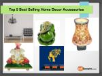 top 5 best selling home decor accessories