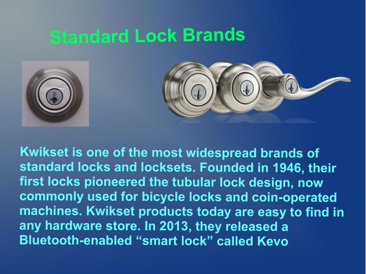 Standard Lock Brands