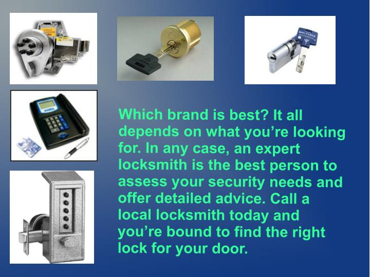 Which brand is best? It all
