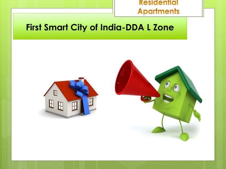 First smart city of india dda l zone