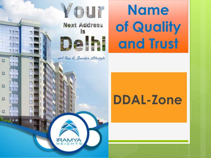 Name of quality and trust